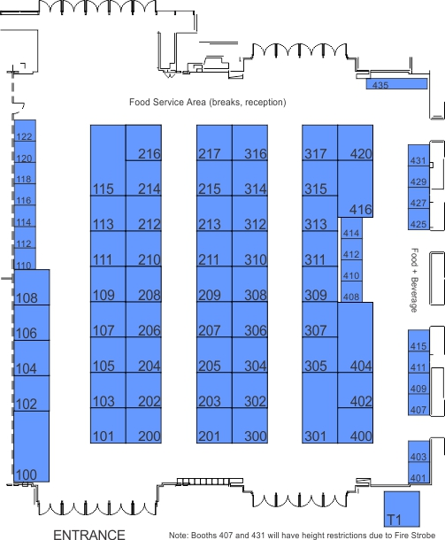 SMPTE 2016 Dolby Hall Map Sept 30 Sold Out
