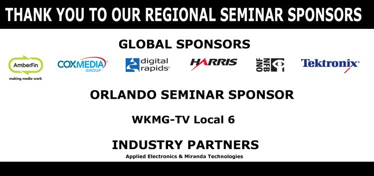 2012 SMPTE Regional Seminar Sponsors