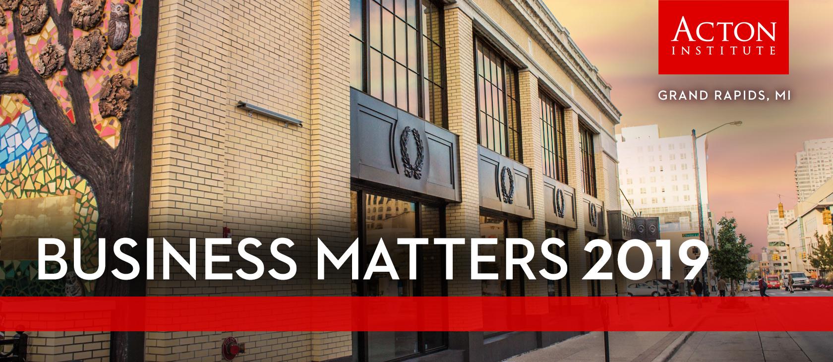 Business Matters 2019