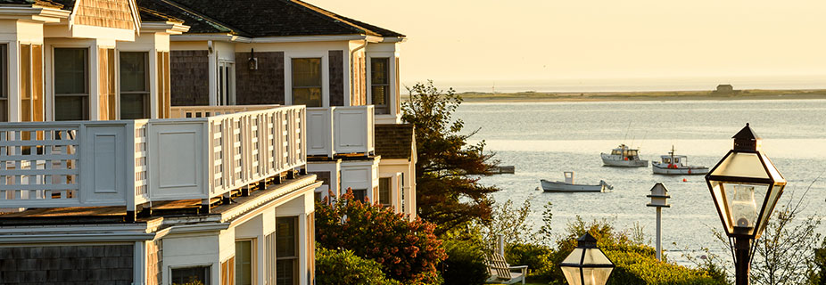 Chatham Bars Inn and ocean view