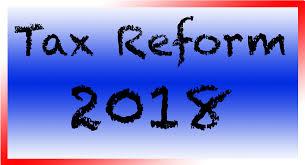 Tax Reform 2018