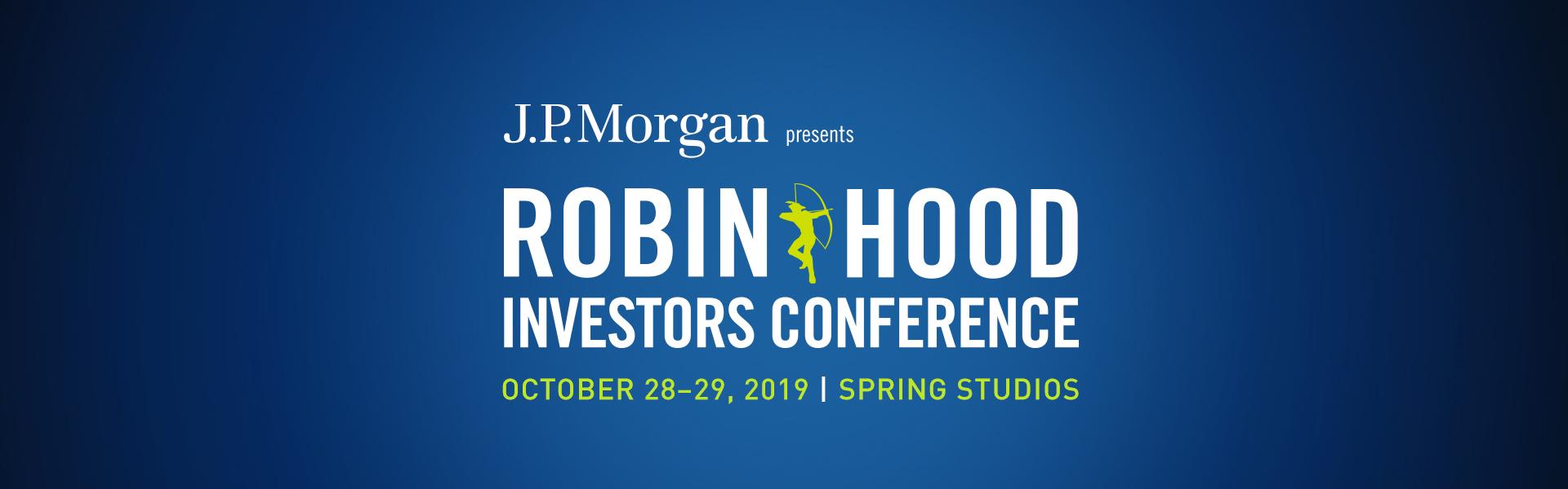 Robin Hood Investors Conference 2019