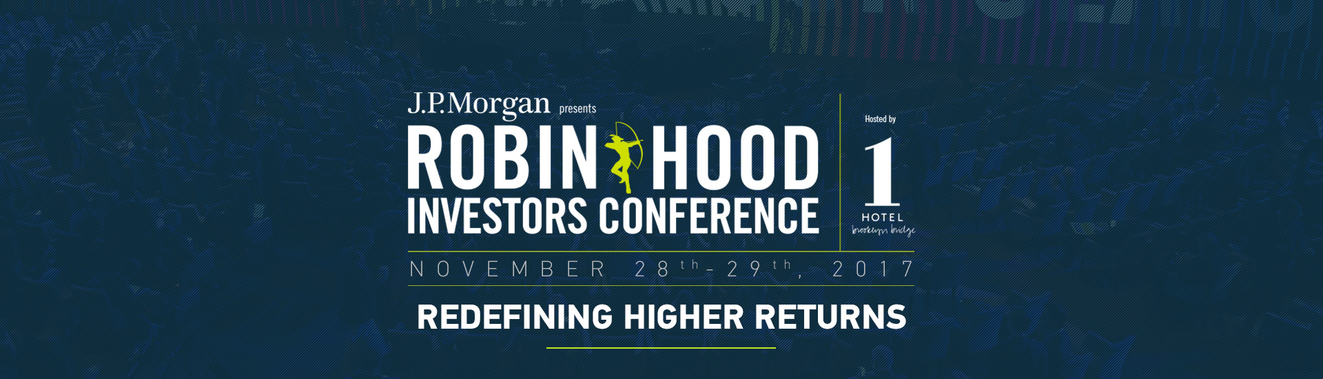 DEMO EVENT - Robin Hood Investors Conference 2017