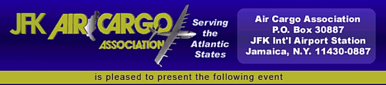 """Structural Changes and New Efficiencies""  - JFK Air Cargo Expo 2013"