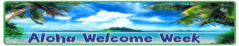 Aloha Welcome Week