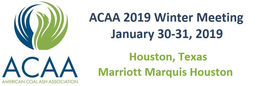 ACAA 2019 Winter Meeting