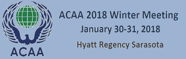 ACAA 2018 Winter Meeting