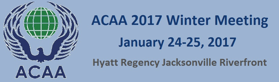ACAA 2017 Winter Meeting