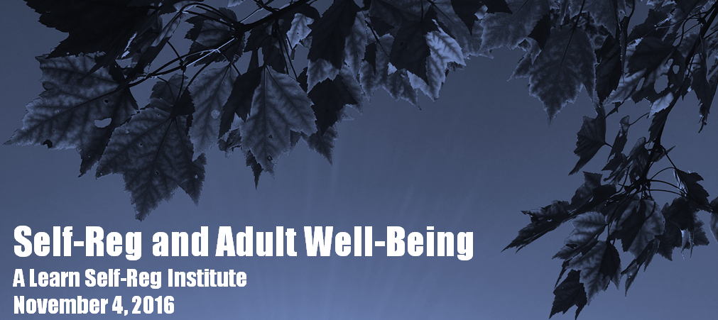 Self-Reg and Adult Well-Being: A Learn Self-Reg Institute