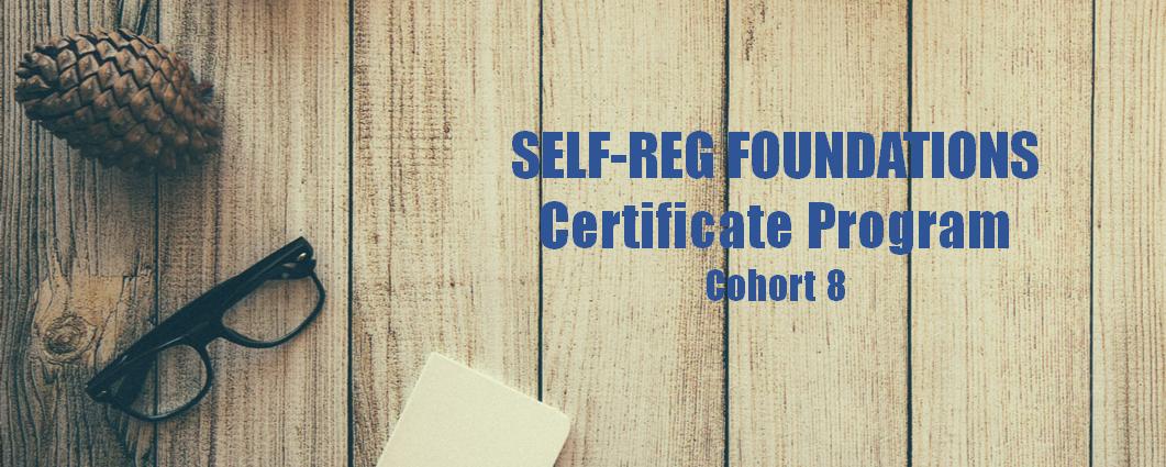 The Self-Reg Foundations Certificate Program Cohort 8