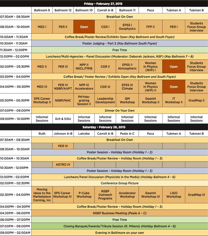 2015 NSBP Agenda at a Glance p2