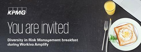 Diversity in Risk Management breakfast during Workiva Amplify