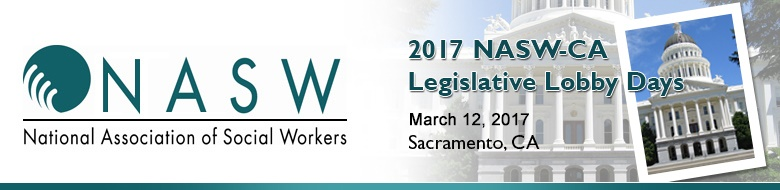 2017 NASW-CA Legislative Lobby Days - Exhibitors Advertisers and Sponsors