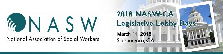 2018 NASW-CA Legislative Lobby Days - Exhibitors Advertisers and Sponsors