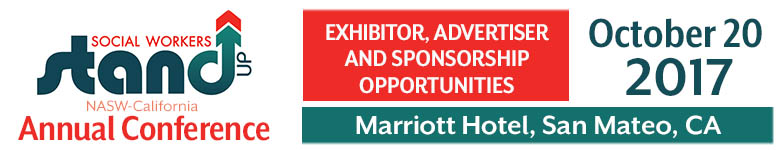 2017 NASW-CA Annual Conference Exhibitor Advertiser and Sponsorship Opportunities