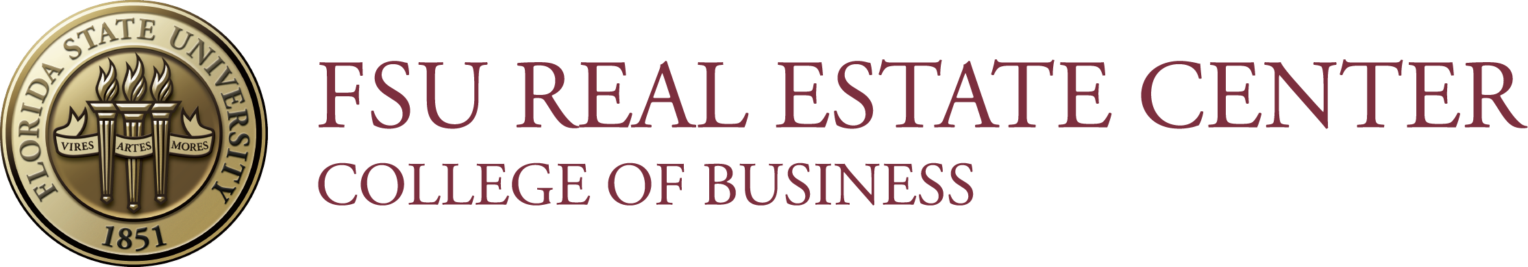 FSU_RealEstateCenter_Logo_Horiz_Color