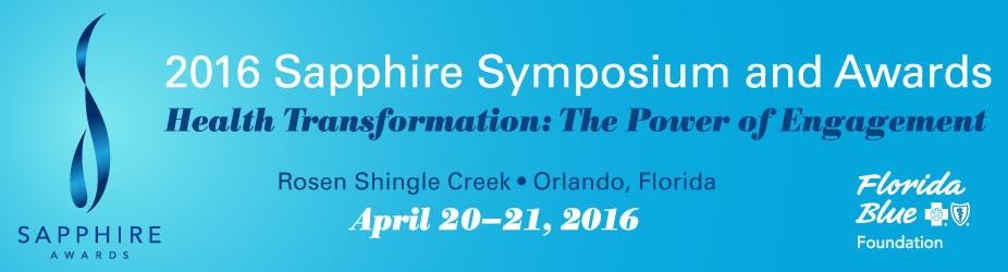 2016 Sapphire Symposium and Awards