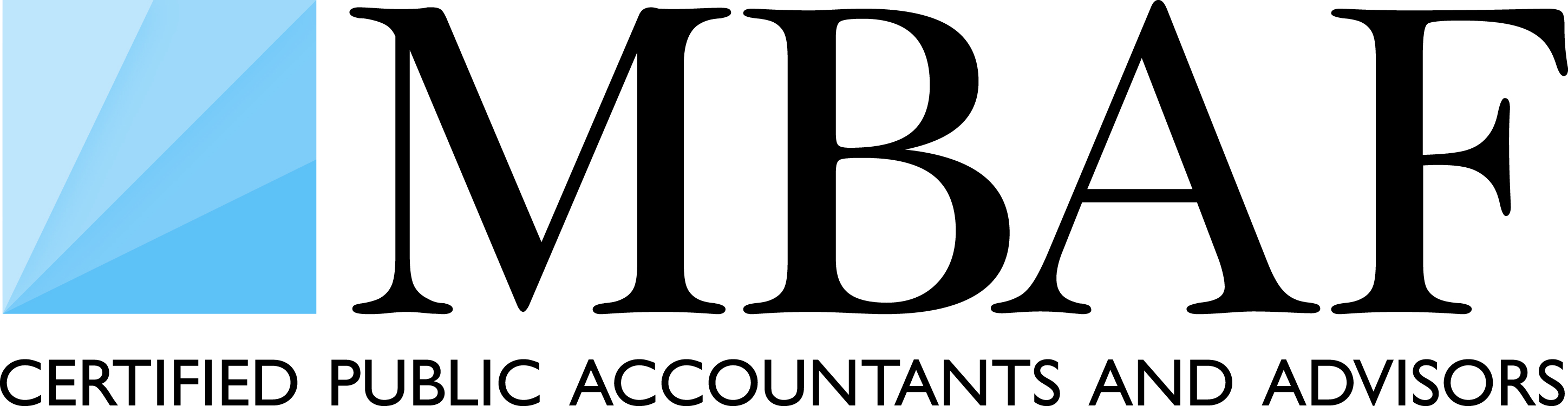 Version 5 - Logo MBAF (Short Logo - Certified Public Accountants and Adv...