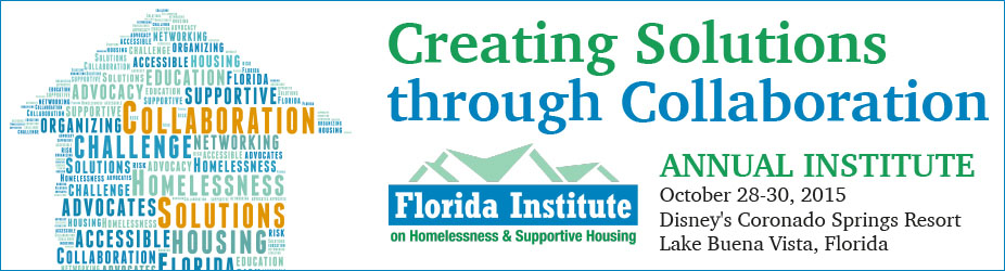 2015 Florida Institute on Homelessness and Supportive Housing