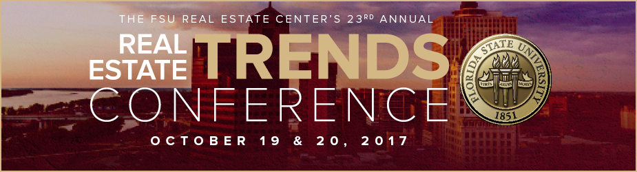 FSU Real Estate TRENDS, October 19 and 20
