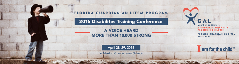 2016 GAL Disabilities Training Conference