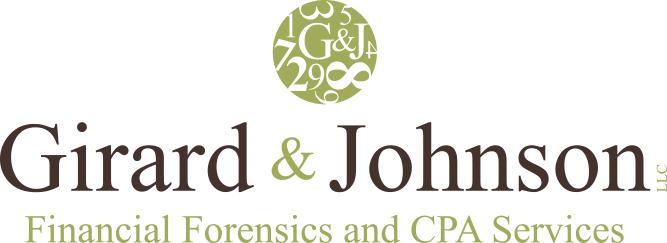 girard and johnson logo - bronze