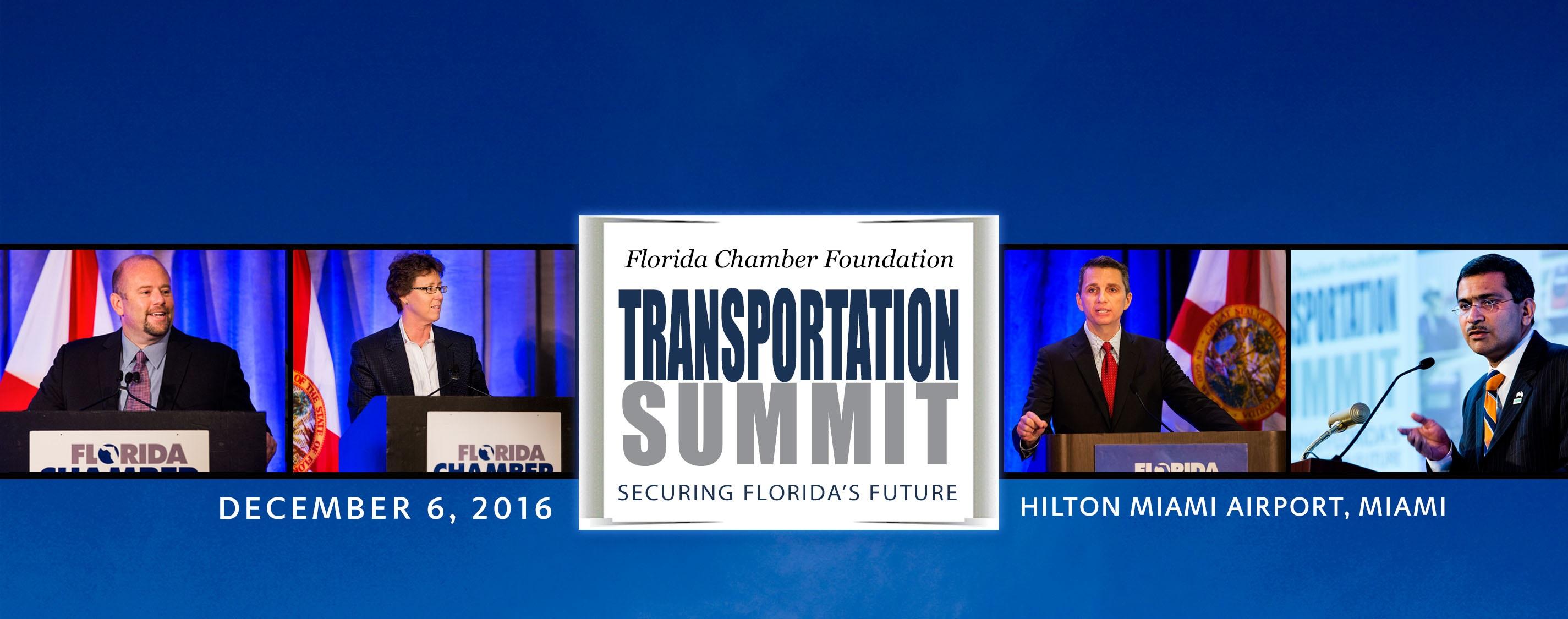 Transportation Summit 2016 banner