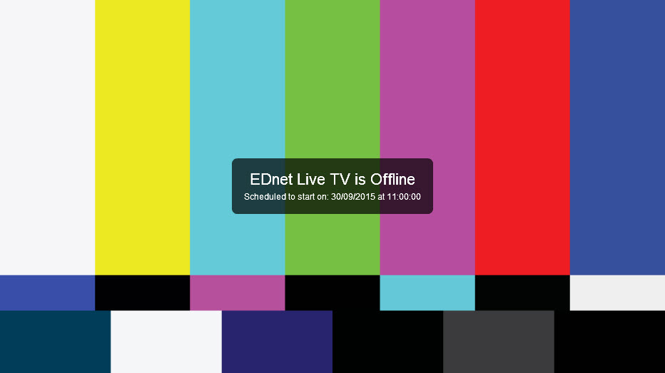 EDnet TV offline