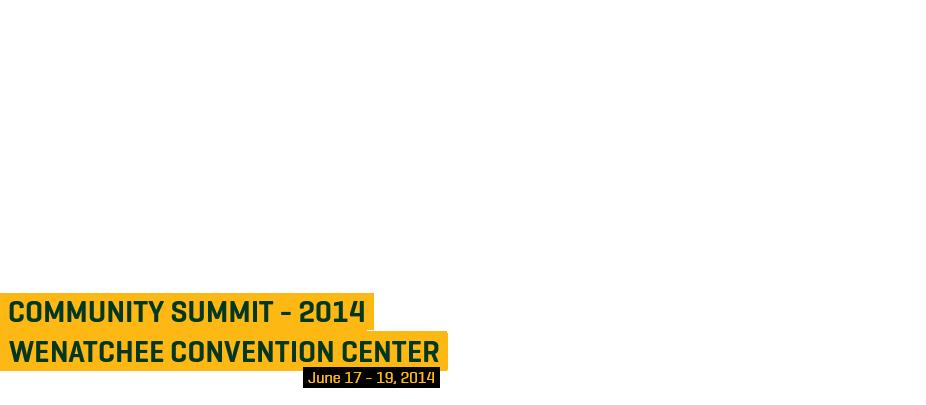Community Summit - 2014