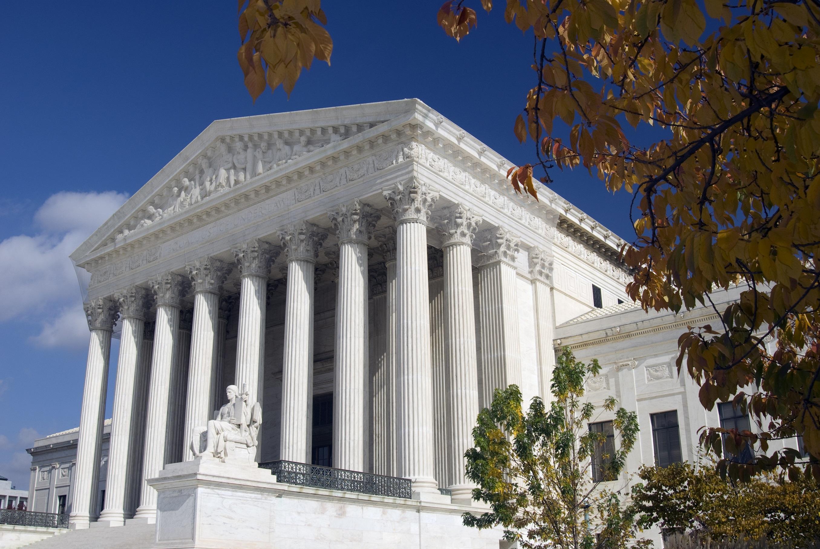 Supreme Court Fall