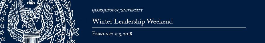 Winter Leadership Weekend 2018