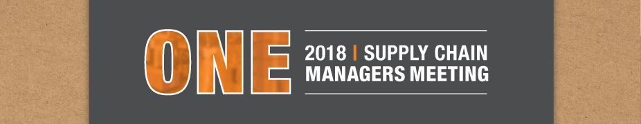 THD Supply Chain Managers Meeting 2018