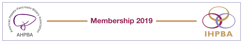 AHPBA & IHPBA Membership 2019