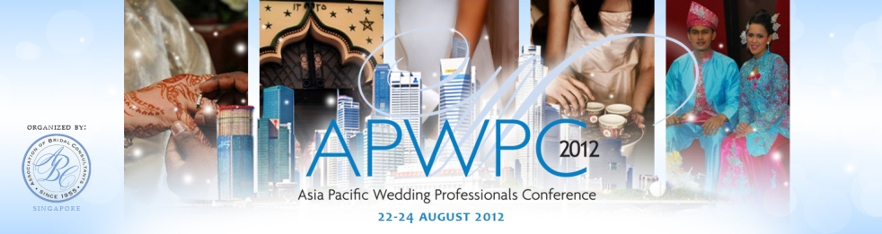 Asia Pacific Wedding Professionals Conference 2012