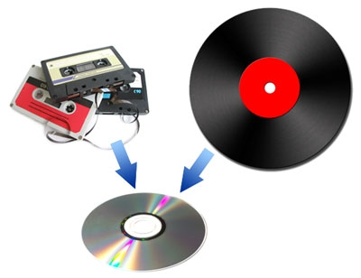 records to cd