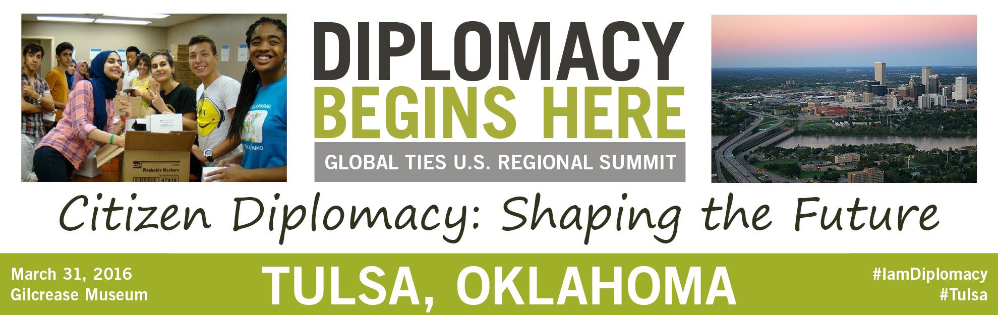 Diplomacy Begins Here: Tulsa, Oklahoma