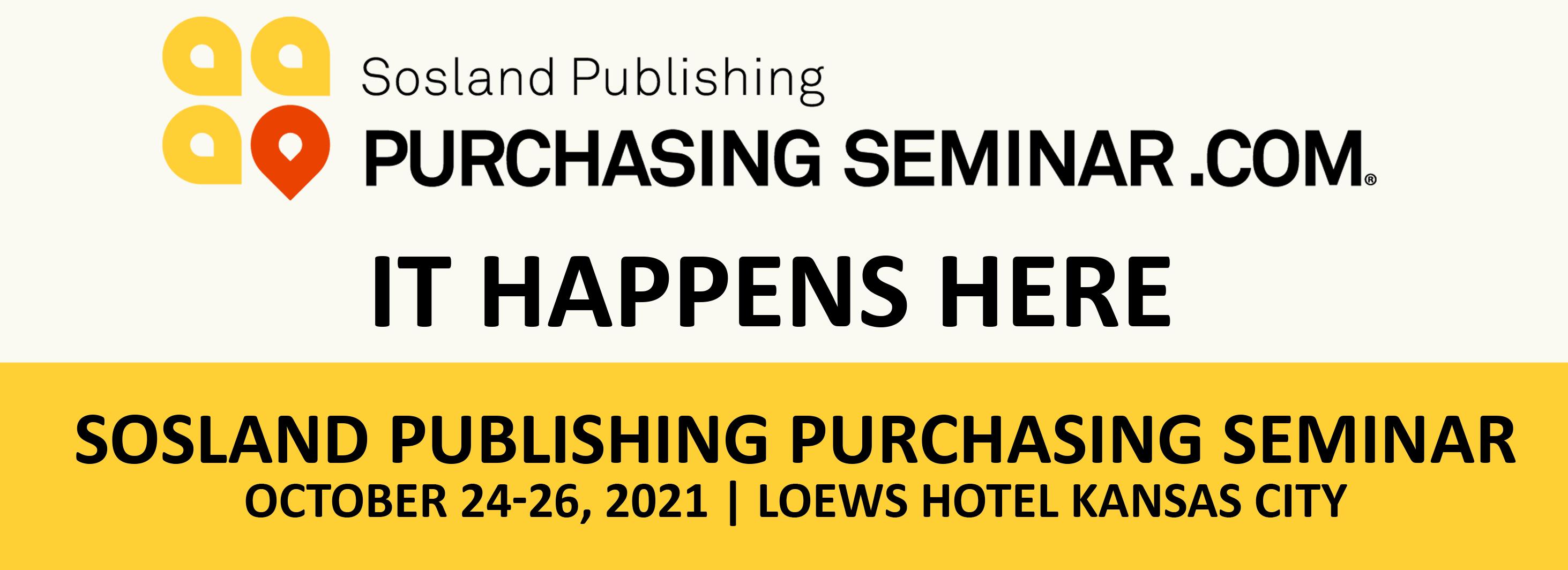 Sosland Publishing Purchasing Seminar - 44th Annual