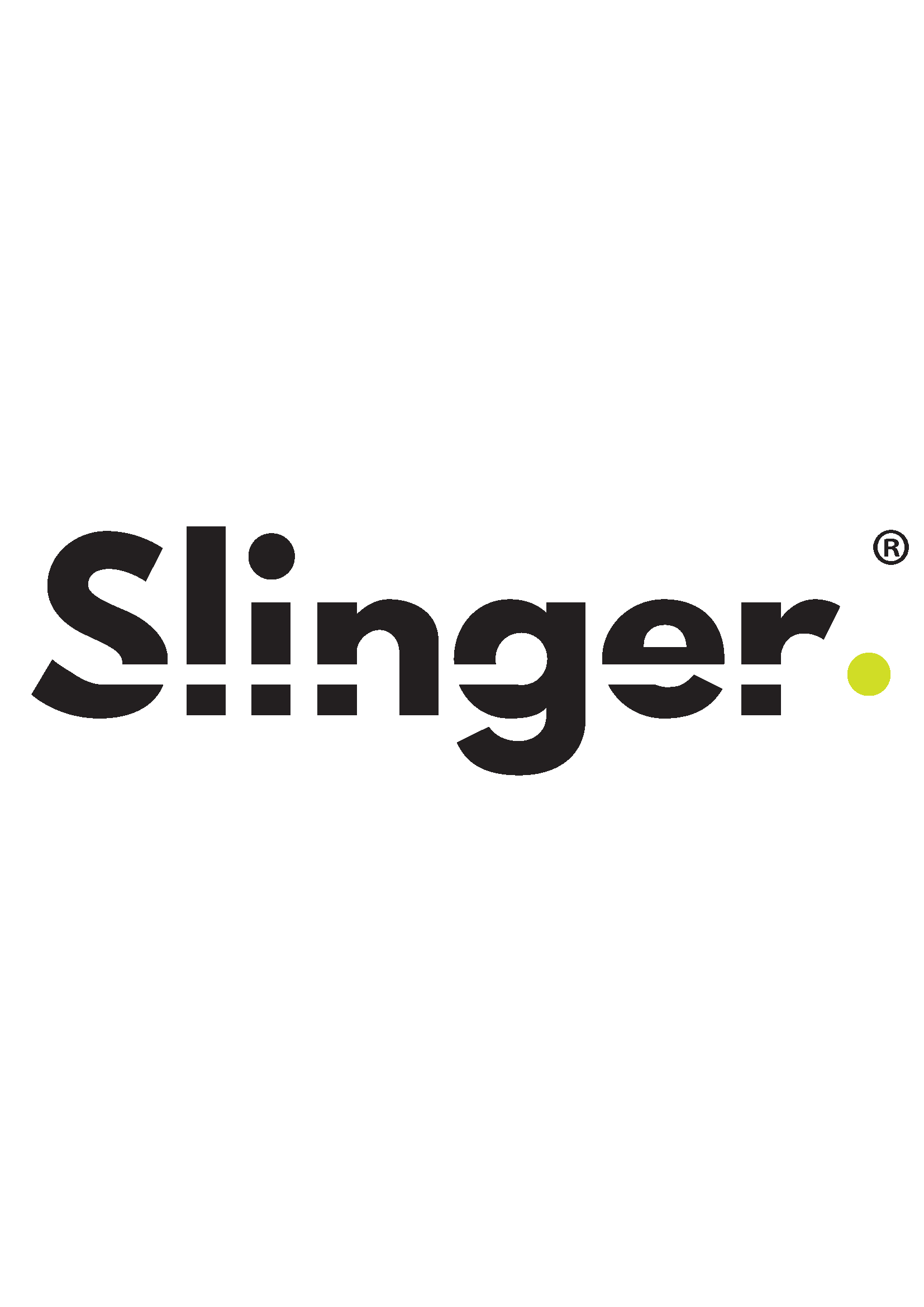 Slinger logo _Black logo