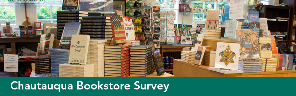 Chautauqua Bookstore Survey