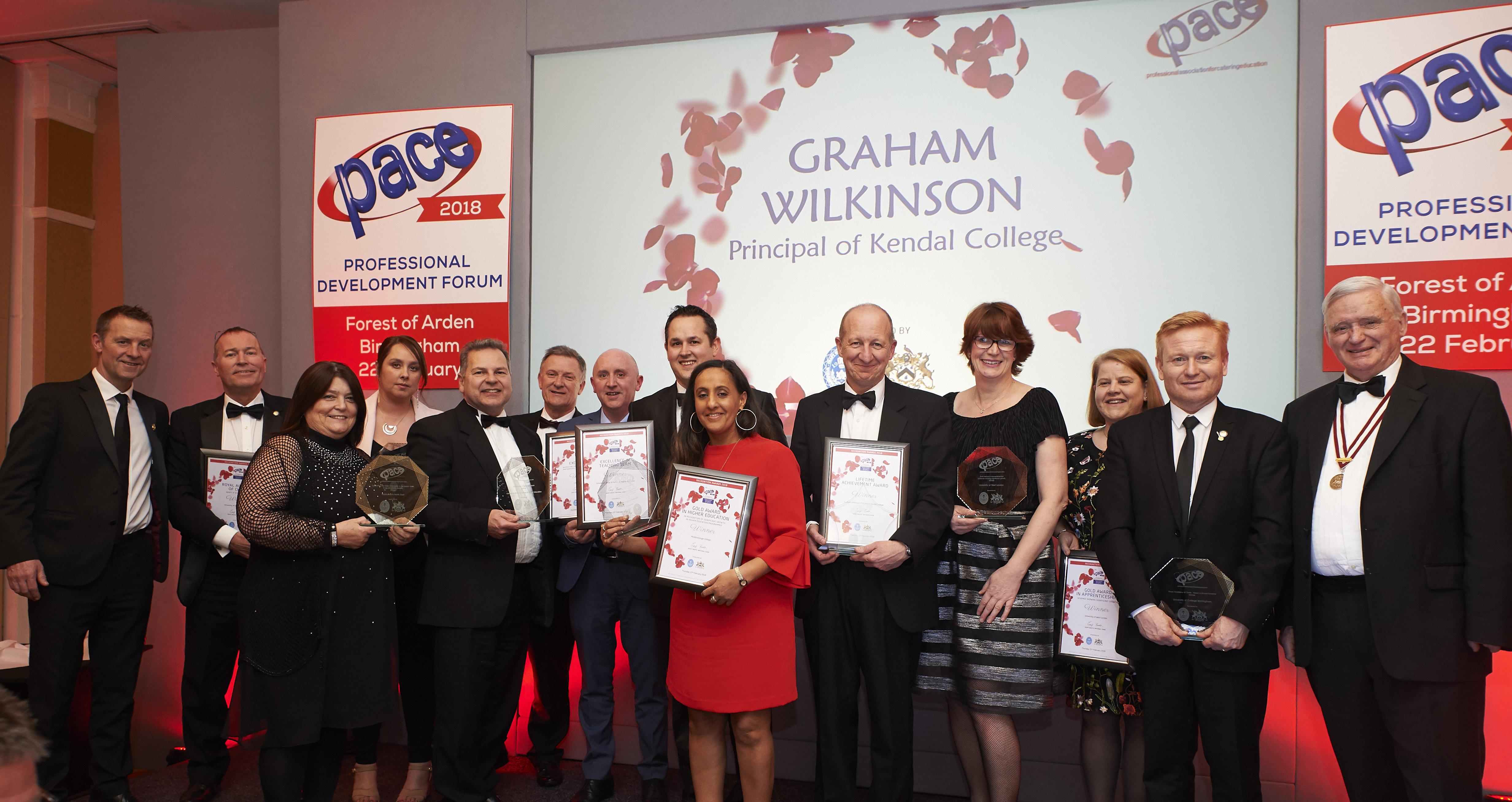 PACE 2018 Award Winners