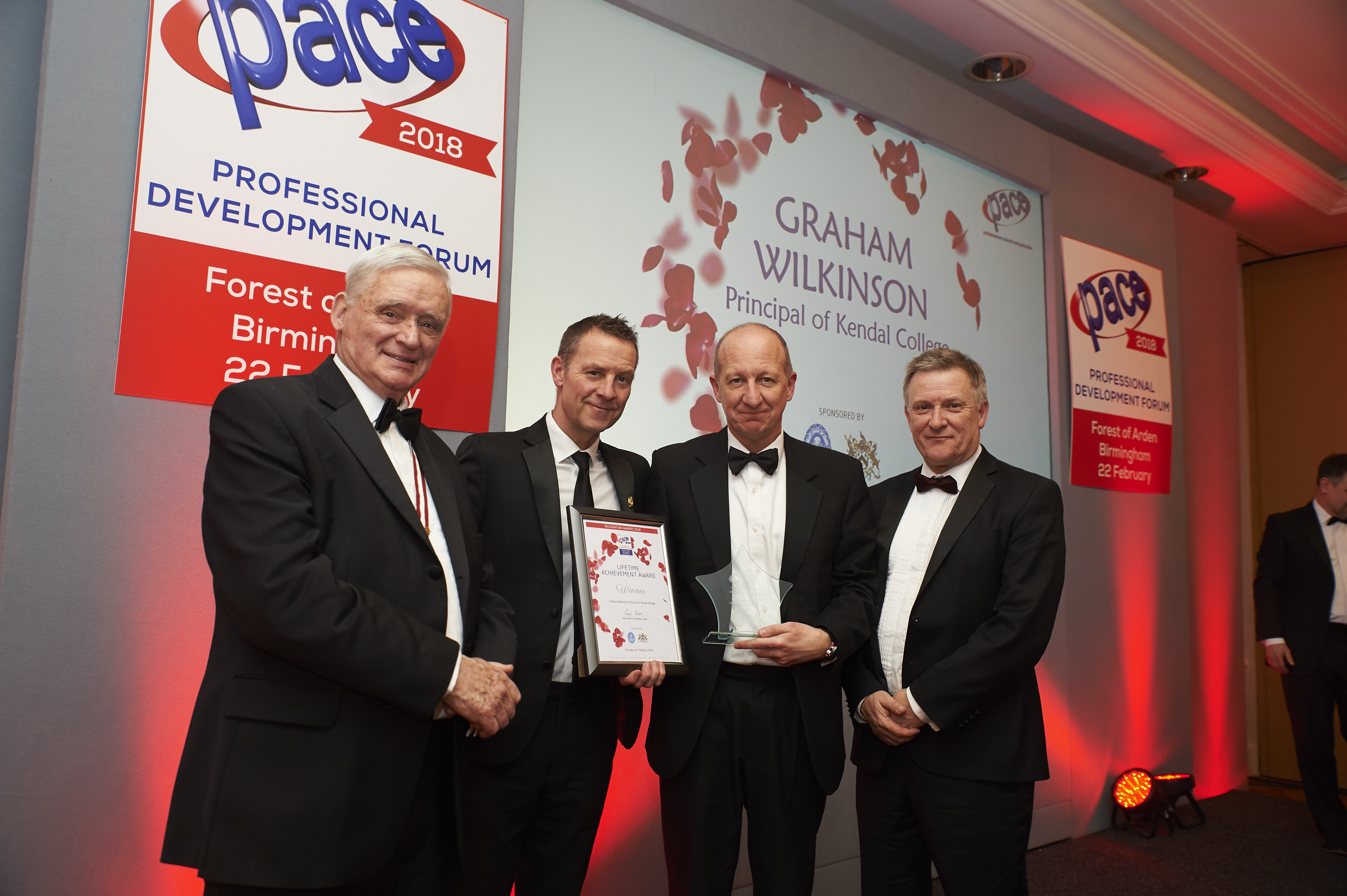 Lifetime Achievement Award - Graham Wilkinson (Ro