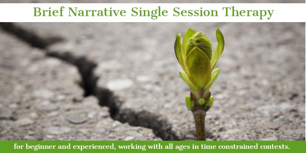 Brief Narrative Single Session Therapy