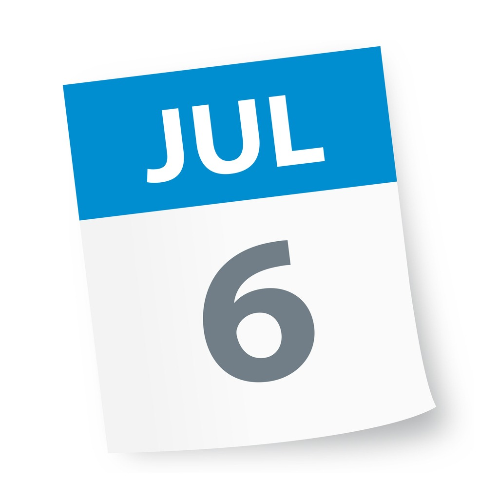 july_6_date_blue_calendar