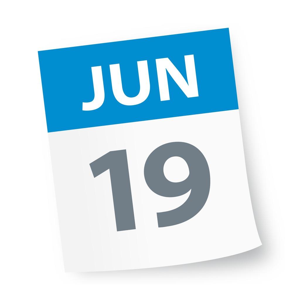 june_19_date_blue_calendar