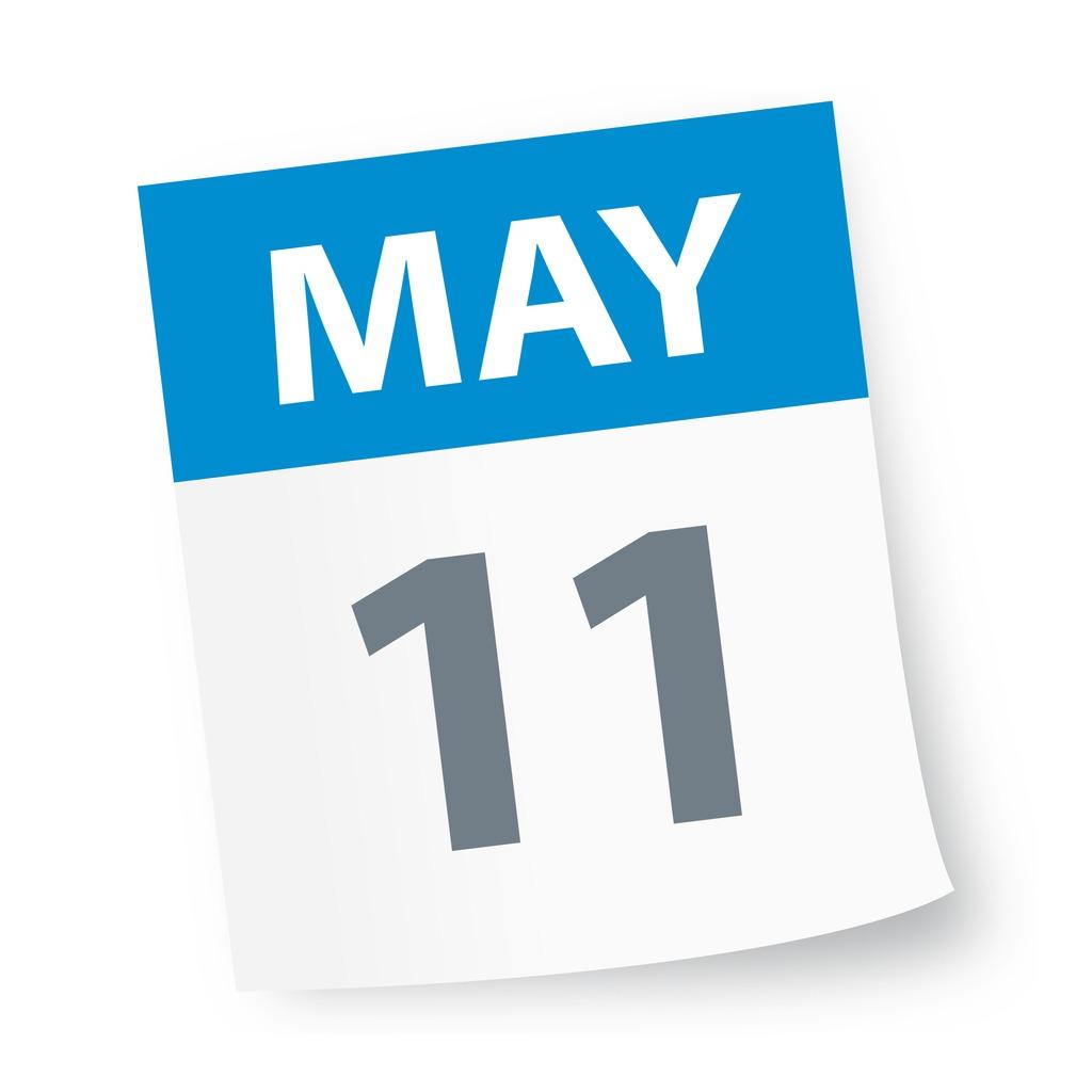 may_11_date_blue_calendar