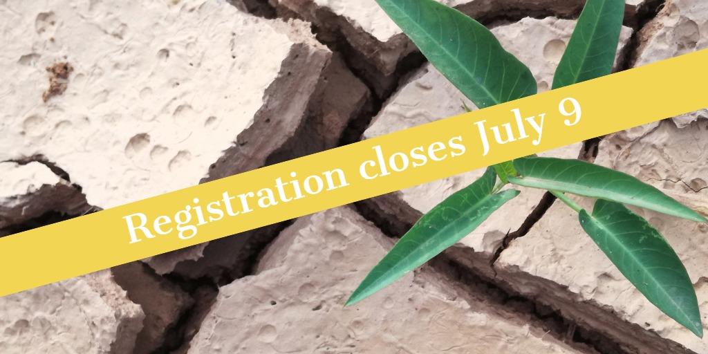 Registration closes July 9 banner