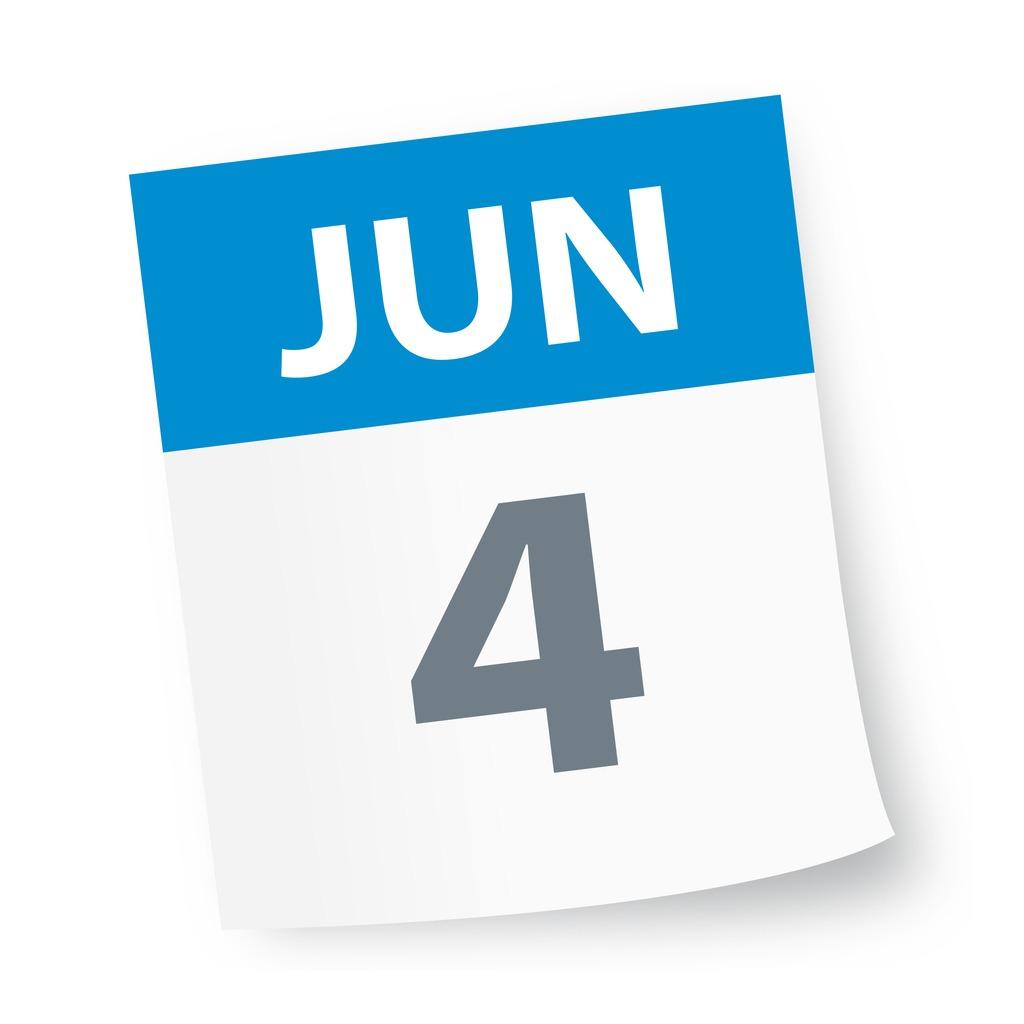 june_4_date_blue_calendar