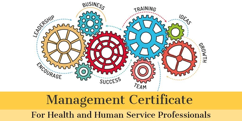Webinar:  Management Certificate