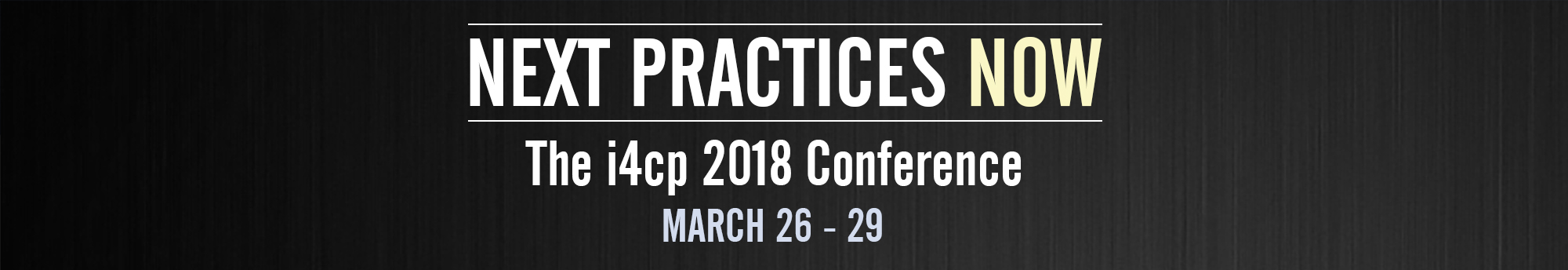 i4cp 2018 Conference