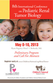 8th International Conference on Pediatric Renal Tumor Biology